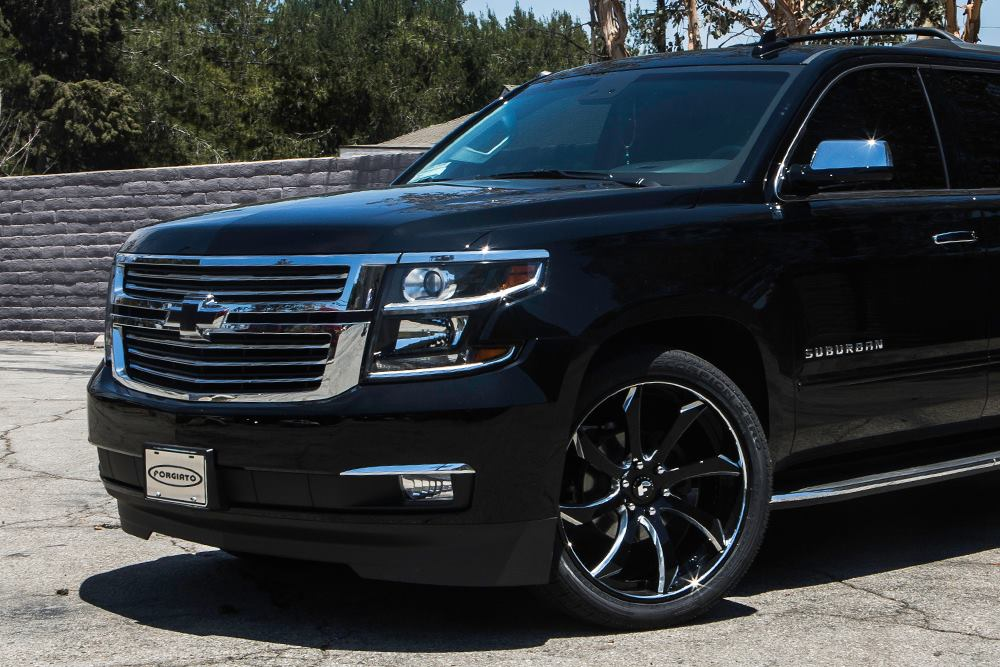 Black-Chevrolet-Suburban-SUV-gets-black-Forgiato-alloy-wheels-1